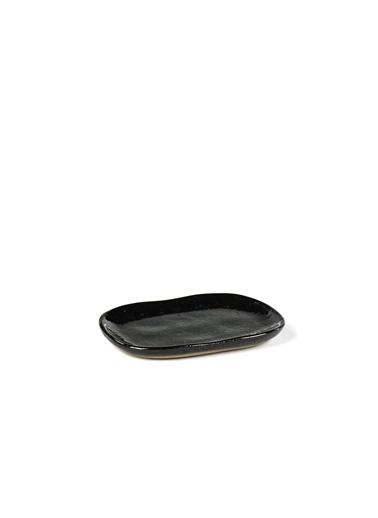 Serax Merci Siyah Mini Tabak 10X6,5Cm Siyah